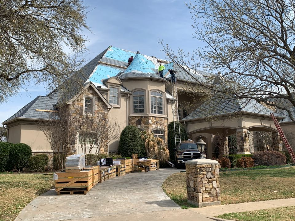 Plano, TX - Re roof 12,000 square ft roof