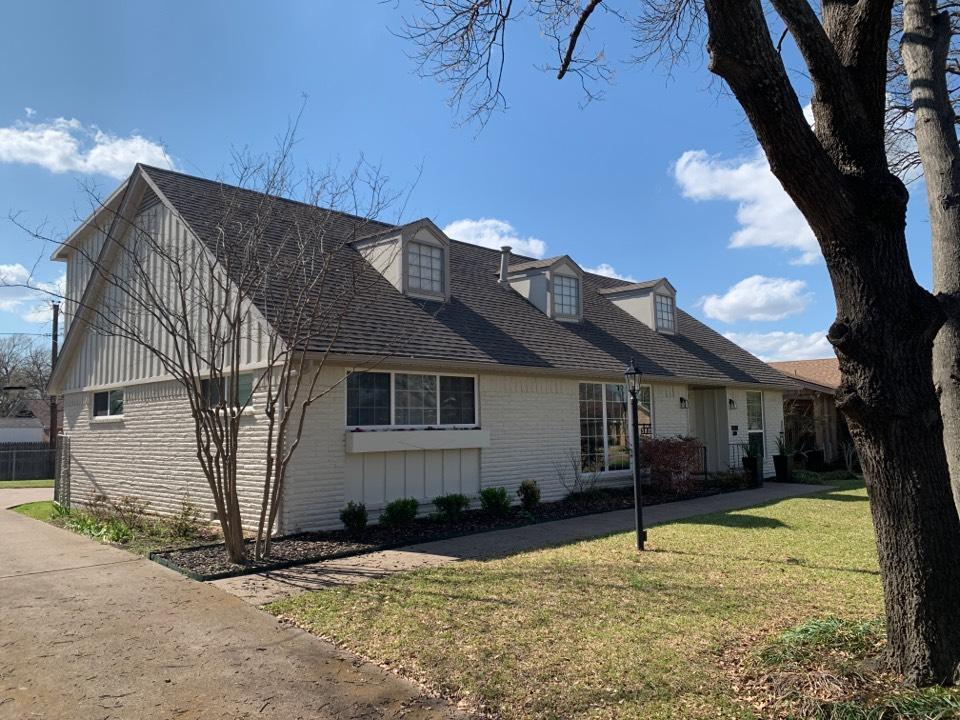 Dallas, TX - Hail damage roof
