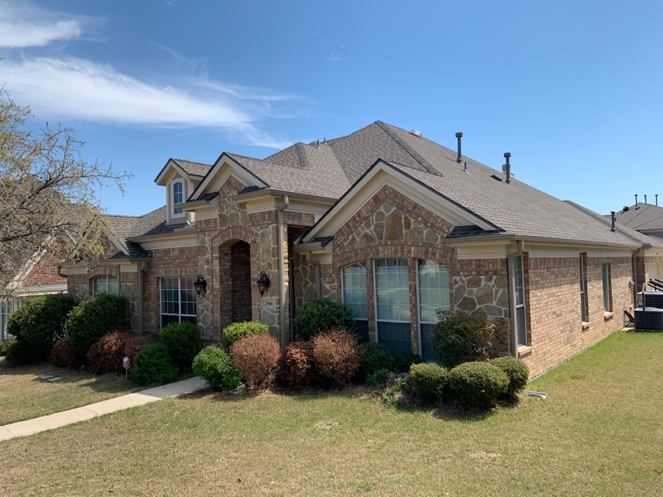 Garland, TX - New roof. Roofing