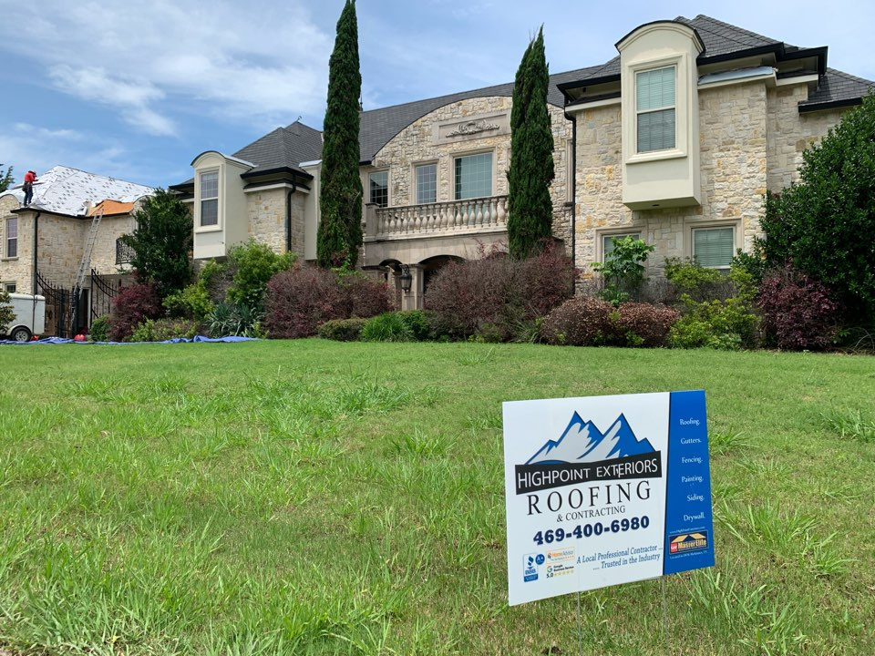 Fairview, TX - New roof for Allen and Mckinney area by HighPointExteriors