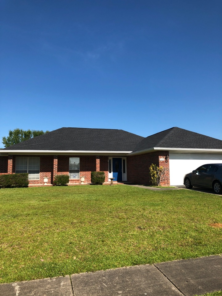 Biloxi, MS - Another job complete- 15013 East Shadow Creek Dr - Timberline HDZ 50yr shingles in in Charcoal