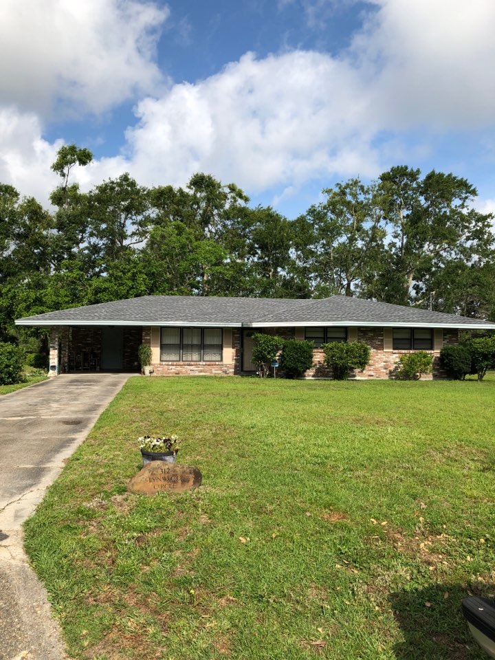 Long Beach, MS - 312 Lynnwood Cir finished in timberline hdz 50 year shingles in pewter gray