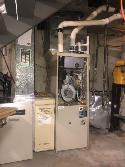 Newark, OH - I installed a new Carrier 96% 60,000 BTU Gas Furnace