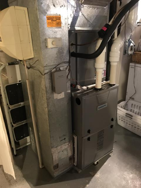 Baltimore, OH - I am Performing our Five Star Tune-Up & Safety Check on 2014 Comfortmaker  Gas Furnace. All readings were within manufacturer's specifications, unit operating properly at this time.