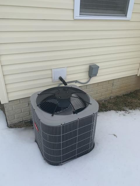 Granville, OH - I am performing a scheduled maintenance agreement tune-up on a Bryant air conditioner. Upon arrival I went through my tune-up checklist and see no issues at this time. Upon departure system is operational.