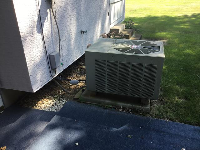 Pickerington, OH - I performed a scheduled maintenance agreement tune-up on a Carrier air conditioner. Upon arrival I completed my tune-up checklist and found no issues at this time. Upon departure system is fully operational and cooling properly.