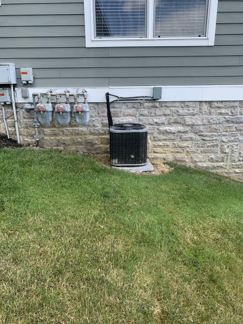 Thornville, OH - I completed an estimate for a Five Star 80% 70,000 BTU gas furnace and a Five Star 16 SEER 3 ton air conditioner. Along with the estimate is a 1 year scheduled maintenance agreement.