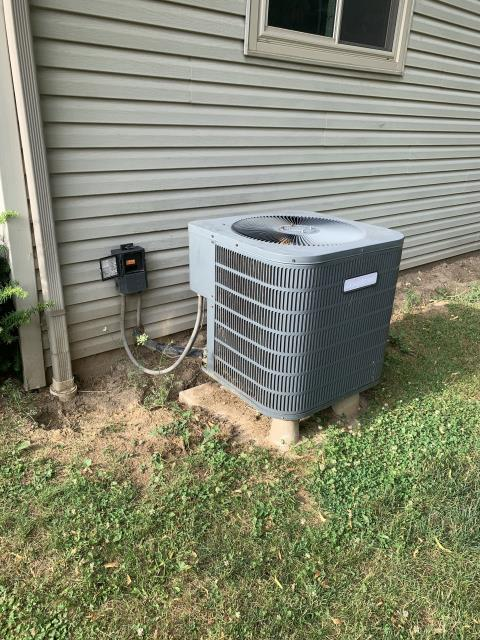 Baltimore, OH - I completed an estimate on a Five Star 3 ton electric furnace and a Five Star 16 SEER 3 ton heat pump. Along with the estimate is a 1 year scheduled maintenance agreement.