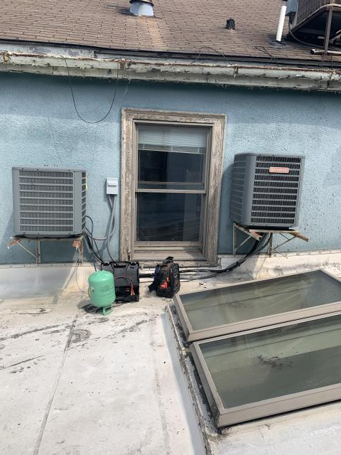 Granville, OH - I completed a diagnostic and found pressures to be low. I added 2 pounds of Freon. System cooling upon departure.