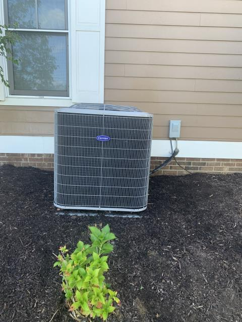 Thornville, OH - I completed a diagnostic and found high voltage at contactor was melted as well as a couple other connections and found contactor ruined. I replaced contactor and cleaned up wires. I cleaned outdoor unit. System cooling upon departure.