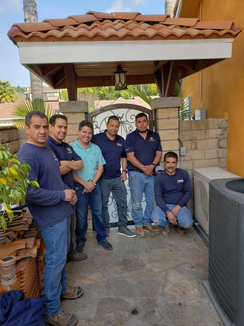 West Covina, CA - Installed a ductless mini split system for a great family in Covina Ca