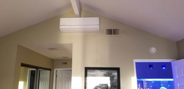 Huntington Beach, CA - Installed a new Mini Split system in the city of Huntington Beach, CA.