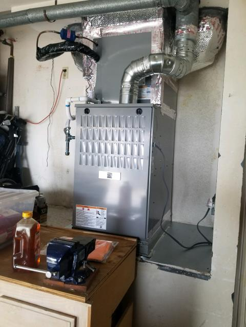Rancho Palos Verdes, CA - Replaced Condenser, Coil and furnace in the city of Rancho Palos Verdes, CA.