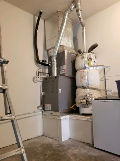Palmdale, CA - Replaced Condenser, Coil and Gas Furnace in the city of Palmdale, CA.