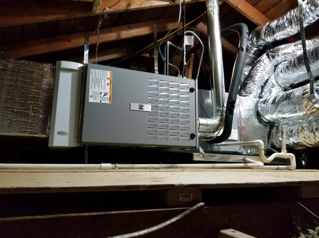 Compton, CA - Replaced Condenser, Coil, and Gas Furnace in the Gilmore home in the city of Compton, CA.