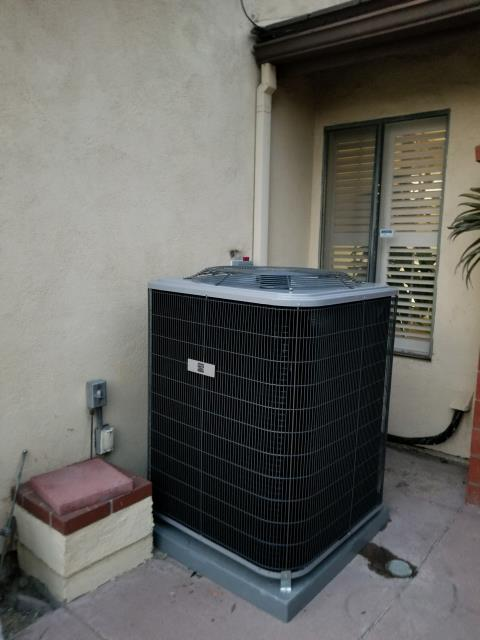 Fullerton, CA - Replaced Condenser, Coil, and the Gas Furnace at the Parks home in the city of Fullerton, CA.