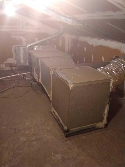 La Puente, CA - Replaced the Condenser and coil in a moblie home located in the city of La Puente, CA.