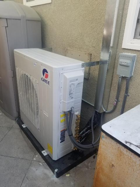 Torrance, CA - Installed a Mini Split in the Hoffman home located in the city of Torrance, CA.