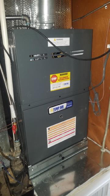 Covina, CA - Replaced the Furnace, and installed a new gas line in the Segovia home located in the city of Covina, CA.