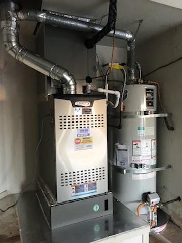 Walnut, CA - Two Replacements of the condenser, coil, and furnace. Also installed new digital Thermostat.