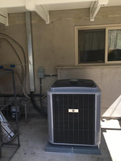 Placentia, CA - Replaced Condenser, coil, and the furnace. We also installed a new Digital thermostat, and upgraded the Electric panel in the city of Placentia, CA.