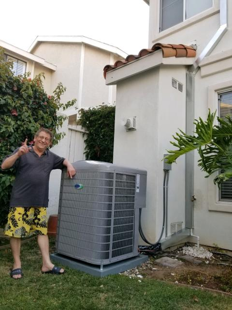 Redondo Beach, CA - Replaced the Condenser, coil, and the furnace in the happy home of the Yousof's located in the city of Redondo Beach, CA.