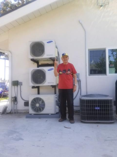 La Puente, CA - Installed a mini split in the satisfed Ibanez home located in the city of La Puente, CA.