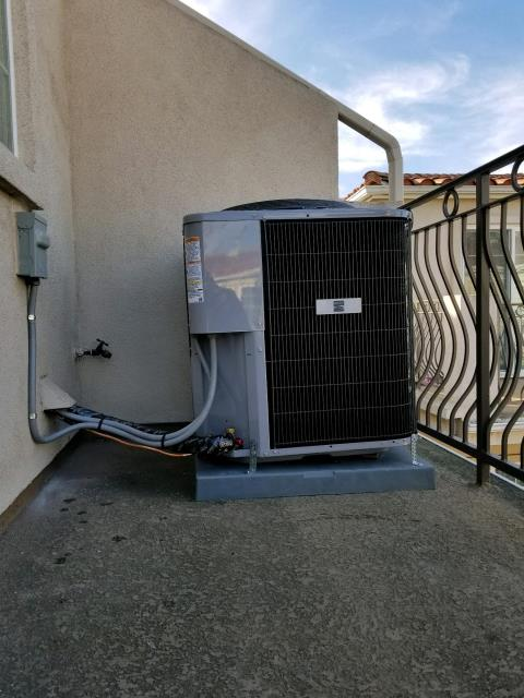 Torrance, CA - Replaced the condenser, and coil in the city of Torrance, CA.