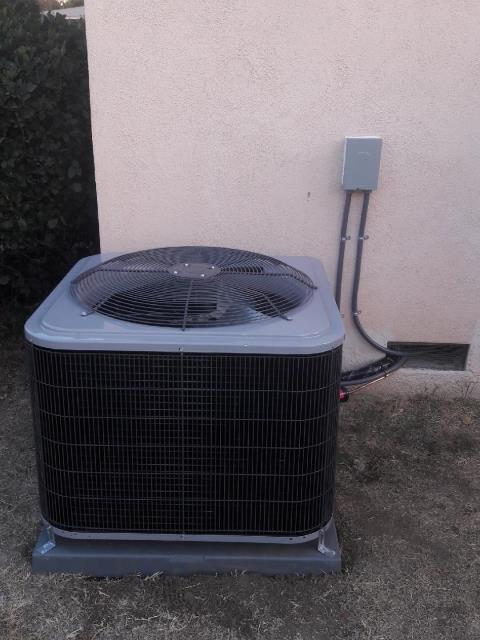 West Covina, CA - Replaced the condenser, coil, and the furnace. Also upgraded the Electric Panel in the city of West Covina, CA
