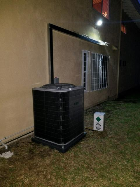 Rancho Palos Verdes, CA - Replaced the condenser, coil, and the furnace in the city of Rancho Palos Verdes, CA.