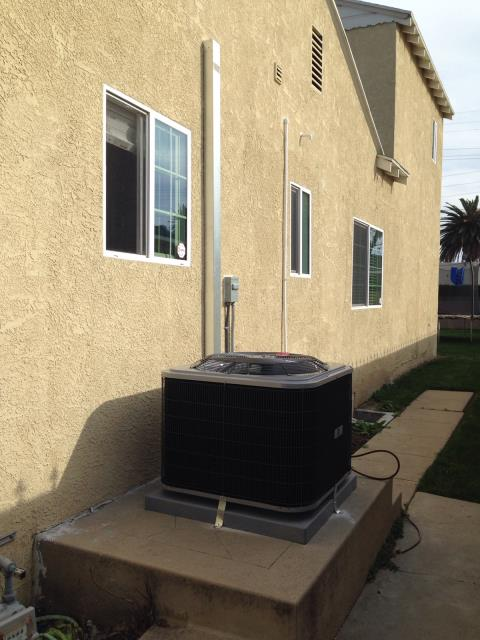 Compton, CA - Replaced the condenser, coil, and the furnace in the city of Compton, CA.