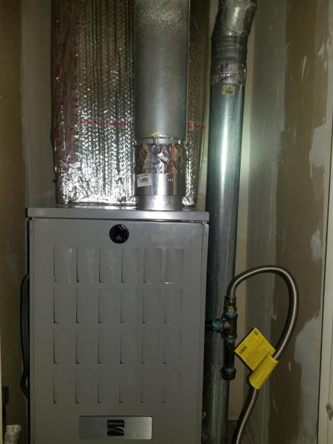 Compton, CA - Replaced gas Furnace in the city of Compton, CA.