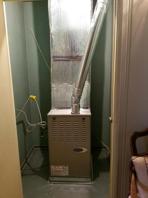 Palos Verdes Estates, CA - Replaced a gas Furnace in the city of Palos Verdez Peninsula, CA.