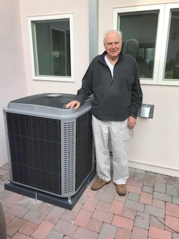 Rancho Palos Verdes, CA - Replaced the condenser, coil, and the furnace in the Satisfied Silver's home located in the city of Rancho Palos Verdes, CA.
