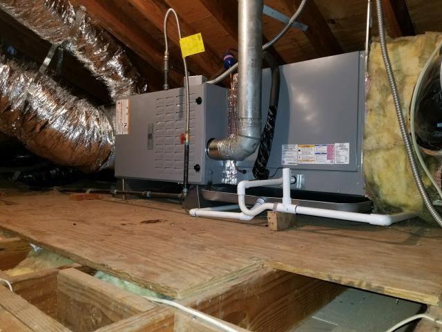 Long Beach, CA - Replaced the condenser, coil, and the furnace in the city of Long Beach, CA.