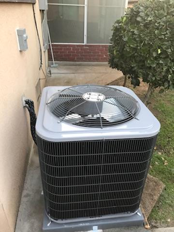 Rosemead, CA - Replaced the condenser, coil, and the gas furnace in the city of Rosemead, CA.