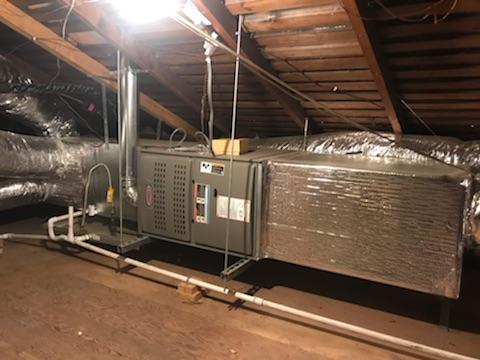 Burbank, CA - Installed a Condenser, coil, and gas furnace in the city of Burbank, CA.