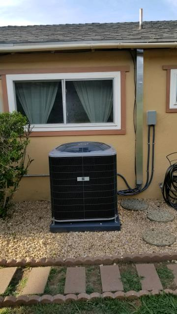La Puente, CA - Replaced the condenser, coil, and the furnace in the city of Rowland Heights, CA