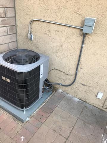 Covina, CA - Replaced the condenser, coil, and the furnace in the city of Covina, CA.