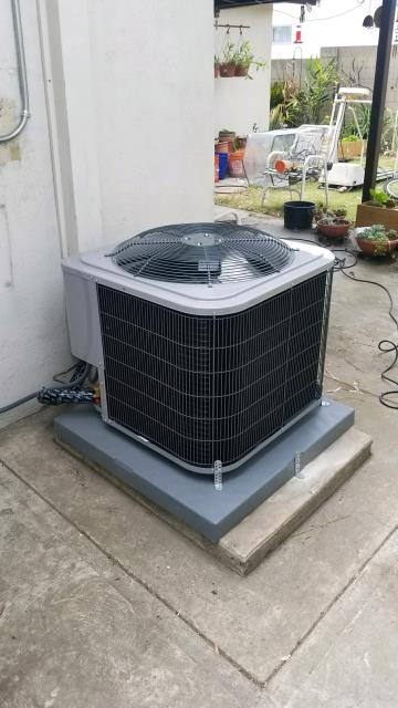 Cerritos, CA - Replaced the condenser, coil, and the furnace in the city of Artesia, CA.