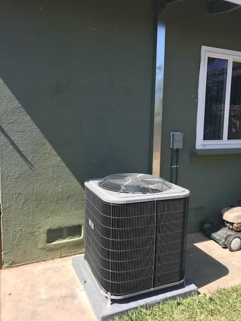 Santa Ana, CA - Replaced the condenser, coil, and the furnace. Also upgraded the electric panel in the city of Santa Ana, CA.