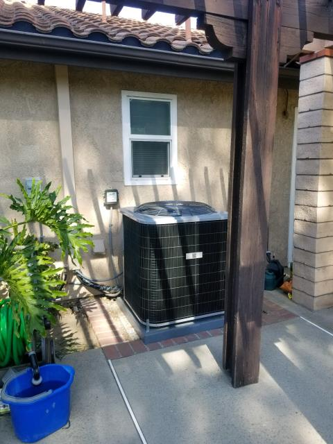 Walnut, CA - Replaced the condenser, coil, and the furnace in the city of Walnut, CA.