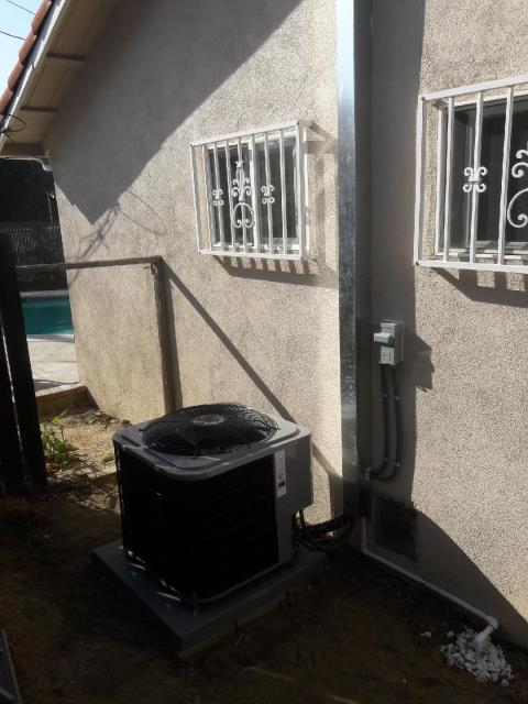 Hacienda Heights, CA - Replaced the condenser, coil, and the furnace in the city of Hacienda Heights, CA.