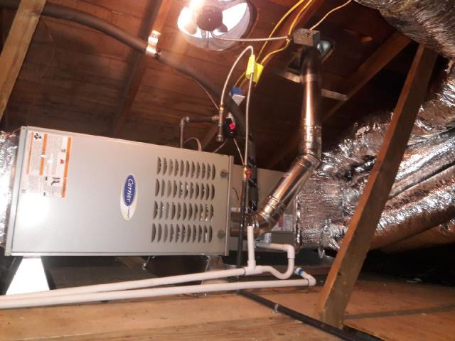 Norwalk, CA - Replaced the condenser, coil, and the furnace in the city of Norwalk, CA.