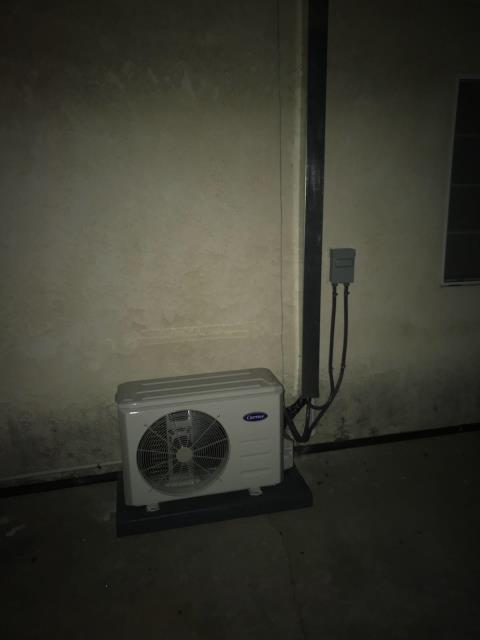 Pico Rivera, CA - Installed a Mini Split system in the city of Pico Rivera, CA.