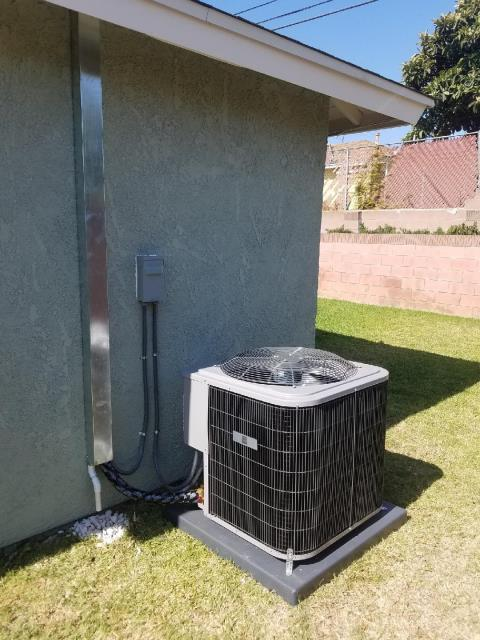 Carson, CA - Replaced the condenser, coil, and the furnace. Also upgraded the Electric Panel in the city of Carson, CA.
