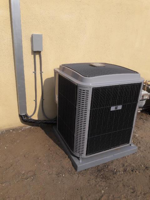 Claremont, CA - Replaced the condenser, and the coil. Also installed a gas furnace in the city of Claremont, CA.