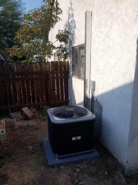 Pomona, CA - Replaced the condenser, coil, and the furnace in the city of Pomona, CA.