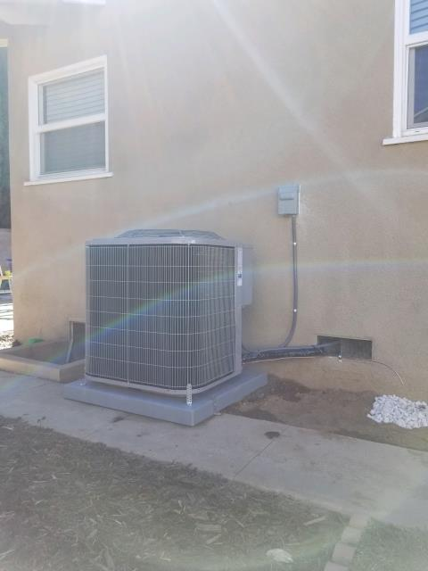 Orange, CA - Replaced the condenser, coil, and the furnace in the city of Orange, CA.