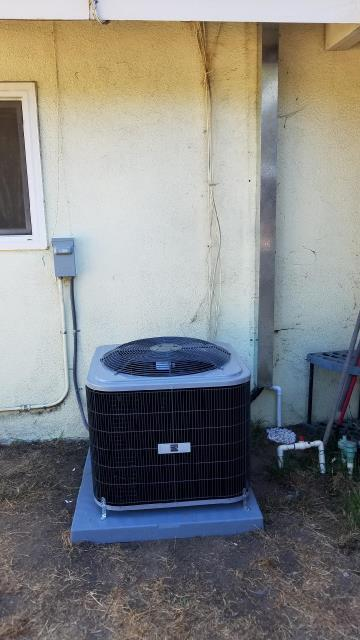Diamond Bar, CA - Replaced the condenser, coil, and the furnace in the city of Diamond Bar, CA.